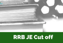 RRB JE Cut Off 2018