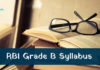 RBI Grade B Officer Syllabus 2021