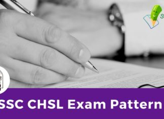 SSC CHSL Exam Pattern 2018