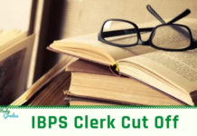 IBPS Clerk Cut off 2019