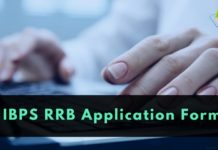 IBPS RRB Application form 2018