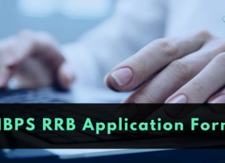 IBPS RRB Application form 2020