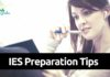 IES Preparation Tips 2021