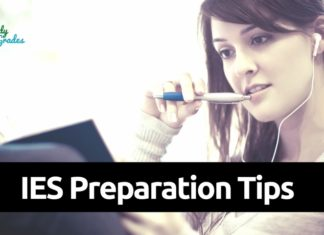 IES Preparation tips 2019