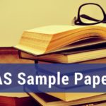 IAS Sample Papers 2019