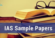 UPSC Sample Papers 2020