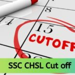 SSC CHSL Cut off 2020