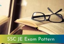 SSC JE Exam Pattern 2021