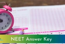 NEET Answer Key 2021