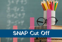 SNAP Cut off 2018
