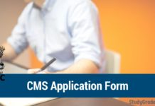 UPSC CMS Application Form 2020