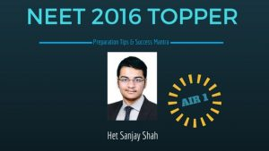 NEET 2016 Toppers