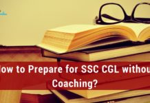 How to Prepare for SSC CGL 2021 without Coaching?