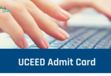 UCEED Admit Card 2020