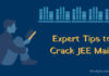 Expert Tips to Crack JEE Main 2019