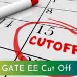 GATE EE Cut off 2021
