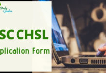 SSC CHSL Application form 2019