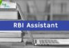 RBI Assistant 2018