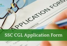 SSC CGL Application form 2021