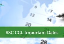 SSC CGL Exam Date 2021