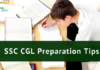 SSC CGL 2021 Exam Preparation Tips