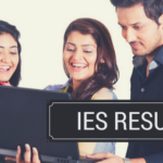 IES Result 2019