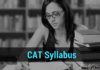 CAT Syllabus 2018