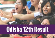 Odisha Board 12th Result 2018