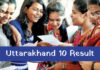Uttarakhand Board 10th Result 2019