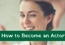 how to become an actor in India