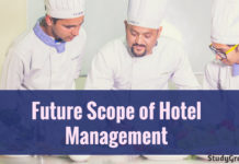what is the future scope in hotel management