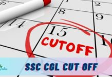 ssc cgl cut off 2021