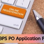 ibps po application form 2020