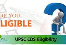 UPSC CDS Eligibility 2020