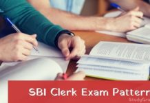 sbi clerk exam pattern 2021