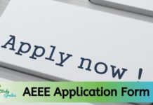 AEEE Application Form 2020