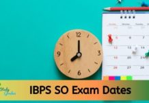 IBPS SO Exam Dates 2020