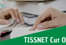 TISSNET Cut off 2019