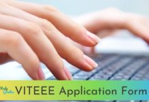 VITEEE Application form 2021