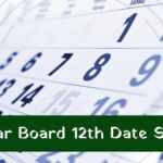 Bihar Board 12th Time Table 2021