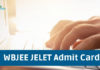 WBJEE JELET Admit Card 2019