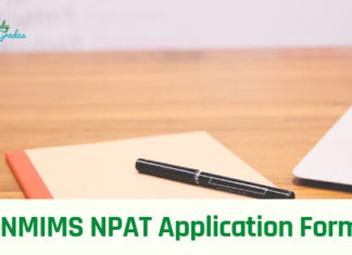 NMIMS NPAT Application Form 2019