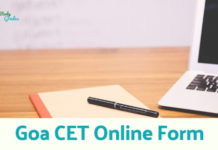 GCET Application form 2019