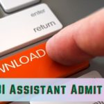 rbi assistant admit card 2021