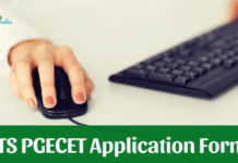 TS PGECET Application Form 2019