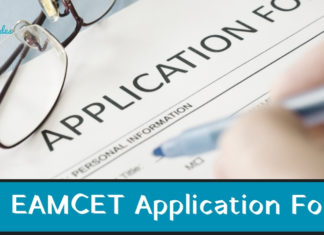 ts eamcet application form 2019