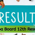 Goa Board 12th Result 2020