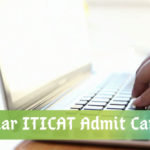 ITICAT Admit Card 2020