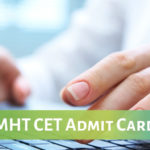 MHT CET 2019 admit CArd