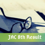JAC 8th Result 2021